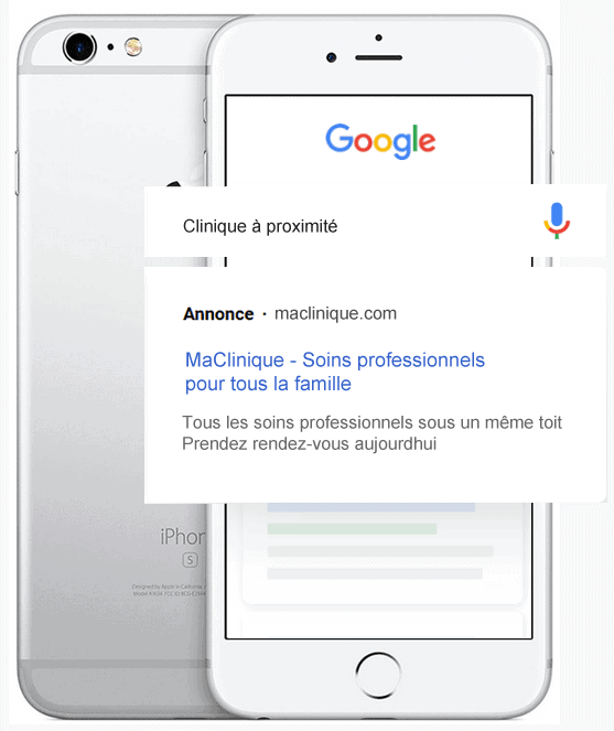 Google Ads Medical Sante