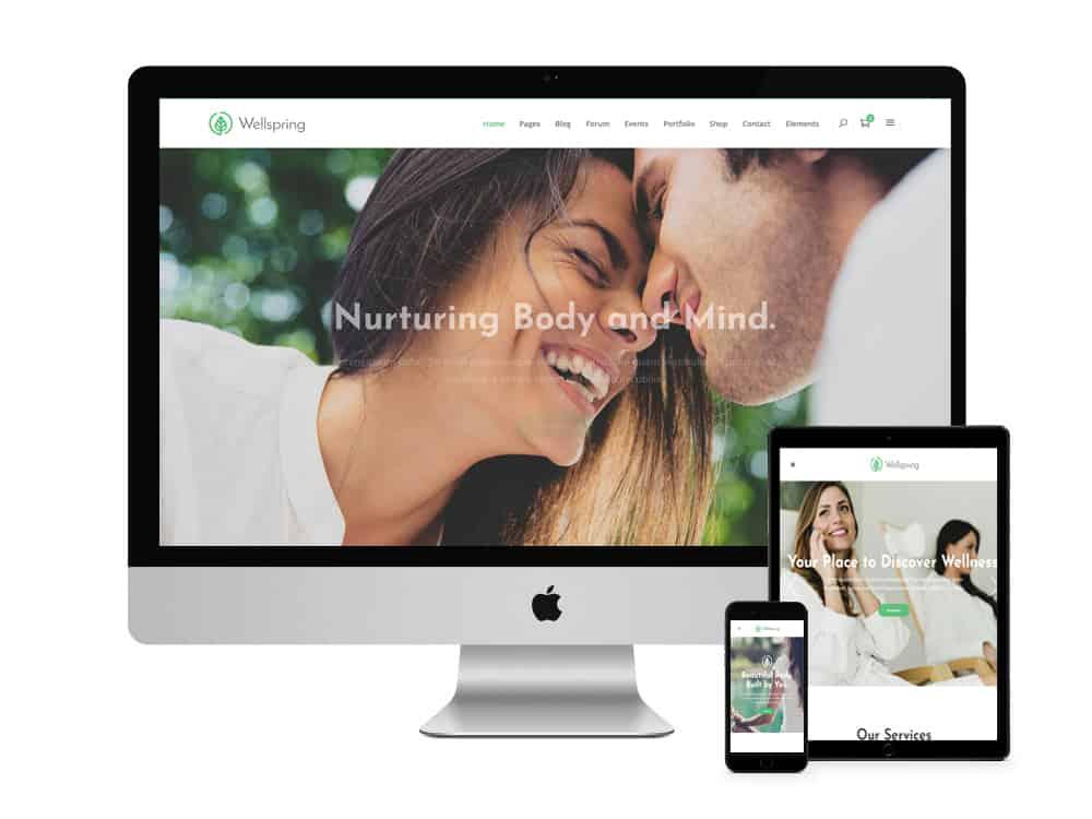 conception de site web santé